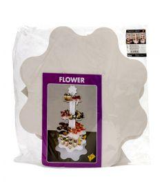 Etagere Flower Food 70cm weiß