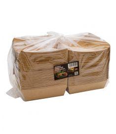 Papier Hamburger Box H9 cm 16x16 50 Stk.