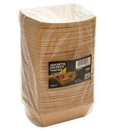 Schale für Streetfood 14x11cm 100Stk LEONE