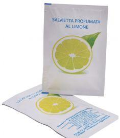 Erfrischungstücher Hände Zitrone