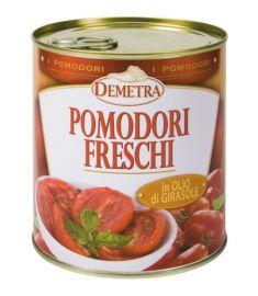 Frische Tomaten halbgetrocknet 780g DEMETRA