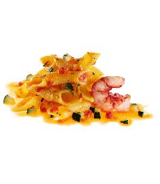 Garganelli Garnelen/Zucchini 300g FIORDIPRIMI
