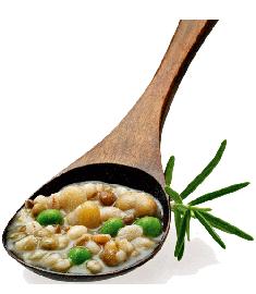 Suppe mit Hülsenfrüchten/Getreide 350g FIORDIPRIMI
